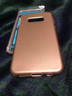 2pc Samsung s8 rose gold defense case for Sale in North Charleston, SC