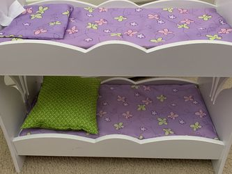Kid Kraft Doll Bunk Bed And Chairs for Sale in Odenton,  MD