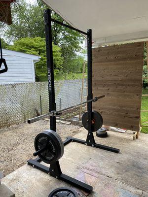 Squat Rack Only for Sale in Rockville, MD
