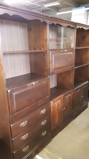 3 solid wood bookshelves for Sale in Allentown, PA