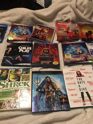 Blue ray /4K movies for Sale in Los Angeles, CA