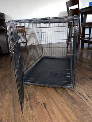 LARGE DOG CRATE for Sale in Los Angeles, CA