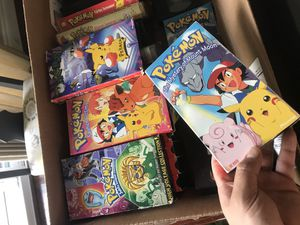 Pokémon movies. VHS for Sale in Anchorage, AK