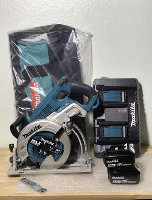 Today only...... Makita 7-1/4 saw kit.....$240......pickup only...... brand new..... for Sale in Fontana, CA