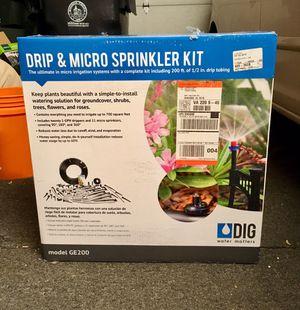DIG Sprinkler & Drip Kit for Garden for Sale in Herndon, VA