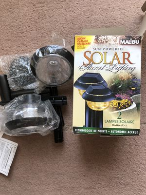 2 pack of solar lights brand new for Sale in Southington, CT