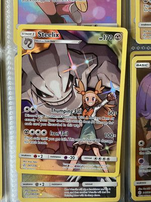 Pokemon card steelix from cosmic eclipse for Sale in The Bronx, NY