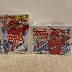 Topps 2021 Baseball Series 1 Blaster Box for Sale in Bellevue,  WA