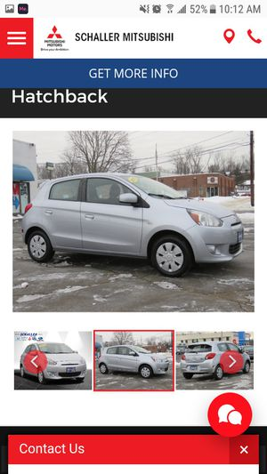 Pre Owned 2015 Mitsubishi Mirage DE FWD Hatchback for Sale in New Britain, CT