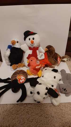 Lot of retired beanie babies for Sale in Murphy, TX