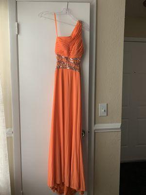 Tangerine prom dress Size 0 for Sale in Winter Park, FL