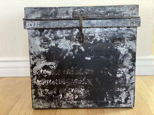 Antique Ballot Box Metal for Sale in Phoenix, AZ