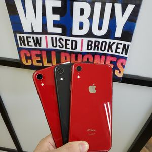 IPHONE XR 64GB AVAILABLE FOR ALL CARRIERS for Sale in Garland, TX