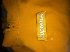 2011 Gold Supreme Box Logo for Sale in Sunnyvale, CA