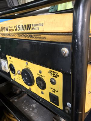 4000 W generator works great starts right up for Sale in Anaheim, CA