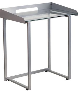 "NEW Flash Furniture 27- 1/2"" W Contemporary Tempered Glass Desk for Sale in South Gate, CA"