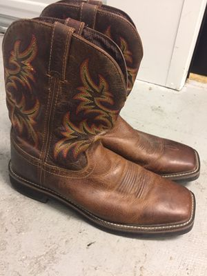 Justin Work Boots WK4681 in Excellent Like New Condition for Sale in Vancouver, WA