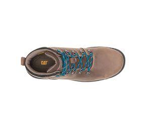 Women's Steel toe Caterpillar work boots 7.5 like New for Sale in Cincinnati, OH