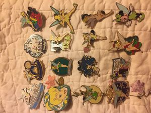Disney Tinkerbell Trading Pin Collection. See all pics for Sale in BETHEL, WA