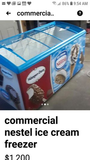 Nestel ice cream freezer for Sale in Dearborn, MI