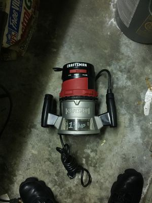 Craftsman router for Sale in Aspen Hill, MD