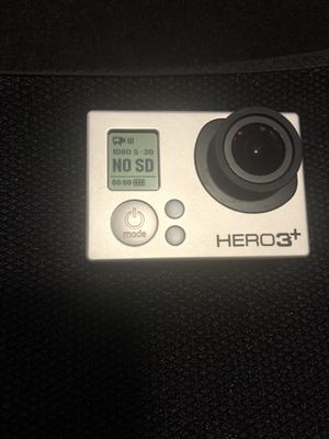 GoPro Hero 3+ black edition for Sale in Ellicott City, MD