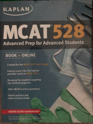 Kaplan MCAT 528 2015 version for Sale in Atlanta, GA