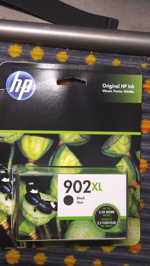 HP 902 XL Black Noir 2.5x more pages for Sale in Inglewood, CA