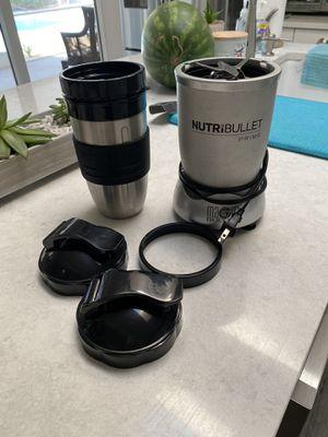 Nutribullet price w/ accessories for Sale in Jupiter, FL