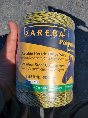 New roll electric fence wire for Sale in Halifax, PA