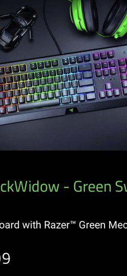 Razer Blackwidow Keyboard for Sale in Lakewood,  CO