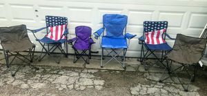 6 OUTDOOR CHAIRS $25 for Sale in Fort Worth, TX