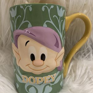 Dopey Disney Store Coffee Cup for Sale in Orange, CA