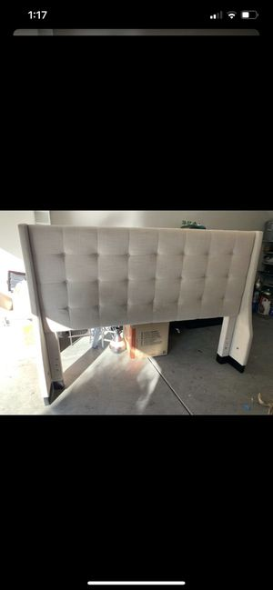 King size bed frame for Sale in Rancho Cucamonga, CA