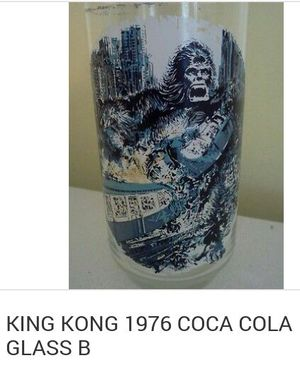 1976 Coca Cola glass King Kong collectible item for Sale in Garden City, MI
