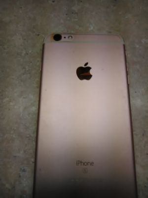 Pink i-phone 6 plus S 32gb has box for Sale in Chesapeake, VA