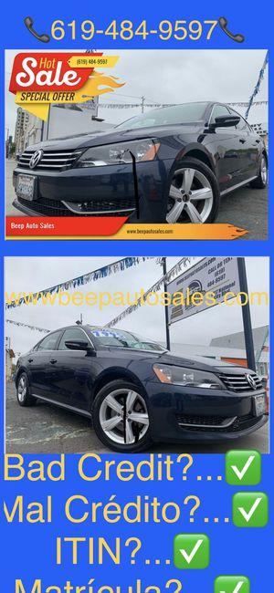 2012 Volkswagen Passat we Finance Aqui financeamos for Sale in National City, CA