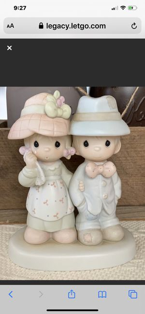"Precious Moment Porcelain 1986 ""God Bless Our"" FamilyFigurine for Sale in Danville, CA"