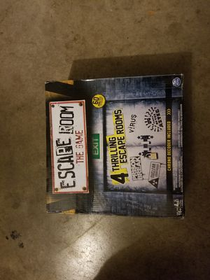 Escape Room The Game - 4 thrilling escape rooms for Sale in Temecula, CA
