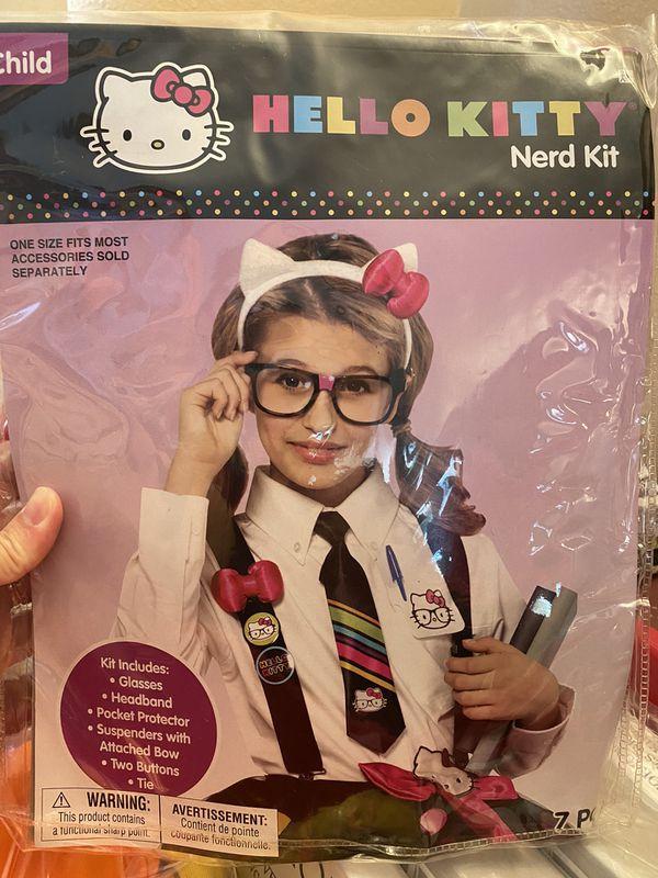 Hello Kitty Nerd Halloween Costume
