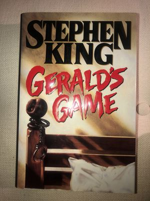 "Stephen King ~ ""Gerald's Game"" ~ Hardcover Book ~ First Edition for Sale in Frisco, TX"