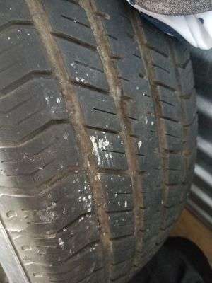 One Used 16 Inch Tire With Steel Rim for Sale in Pawtucket, RI