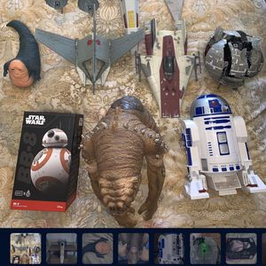 Star Wars collectible figure rc toy led control Kenner bb8 r2d2 for Sale in Marina del Rey, CA
