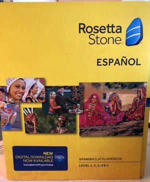Rosetta Stone - Spanish for Sale in Tyler, TX