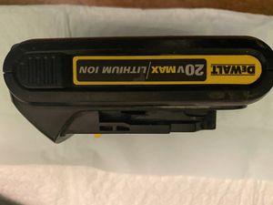 Dewalt Battery 20v for Sale in Fresno, CA