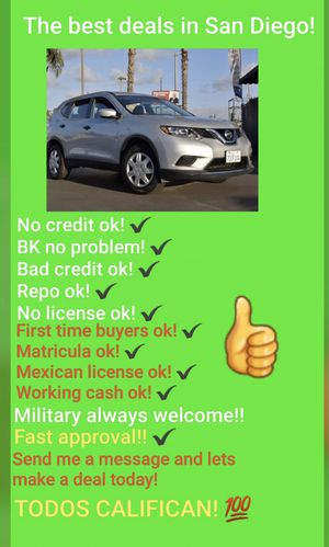 2016 NISSAN ROGUE S ! ONE OWNER! 46 K MILES! for Sale in San Diego , CA