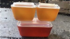 Vintage Pyrex Refrigerator Dishes for Sale in Oakland, CA