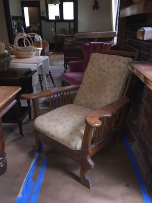 Antique Morris Chair Recliner for Sale in Seattle, WA