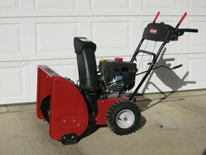 """Craftsman 24"""" dual stage snowblower for Sale in Parma, OH"""