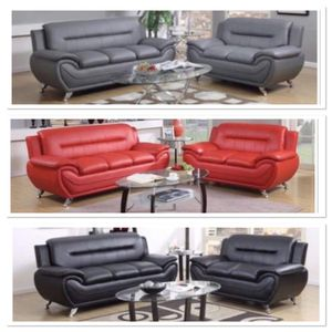 Brand new leather sofa and loveseat only for Sale in Pompano Beach, FL